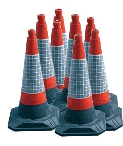 150 Pack Roadhog Cones  safety sign