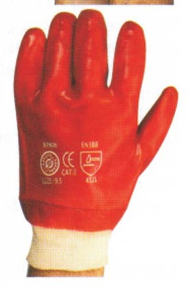PVC Knit Wrist Gloves