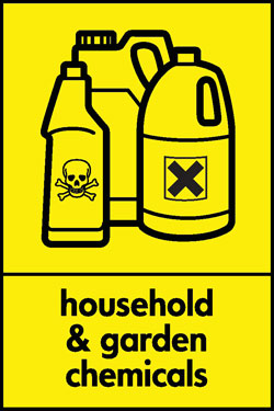 Ghousehold and garden chemicals