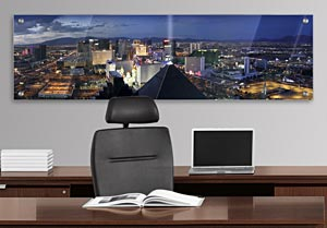 Las Vegas Skyline - Office Art on Acrylic