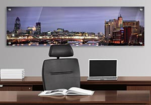 London Skyline - Office Art on Acrylic