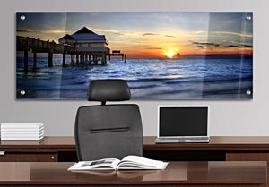 Pier 60, Clearwater - Office Art on Acrylic