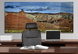 Mexican Hat, Utah - Office Art on Acrylic