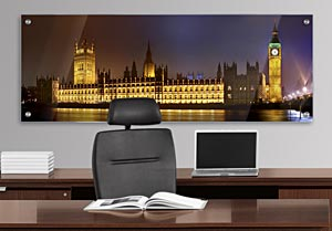 The Houses of Parliament - Office Art on Acrylic