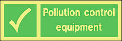 pollution control equipment Marine IMO Sign