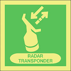 radar transponder Marine IMO Sign
