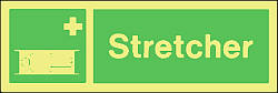 stretcher Marine IMO Sign