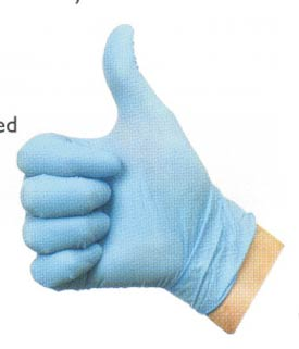 Nitrile Disposable Gloves Safety Equipment