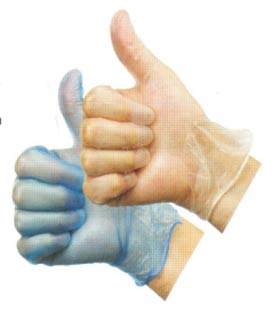 Vinyl Disposable Gloves Safety Equipment