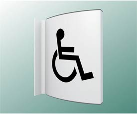 Disabled Toilet Projecting Sign Projecting Signs