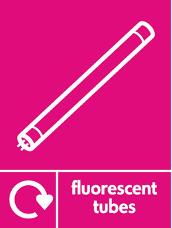 Fluorescent tubes recycle Recycle