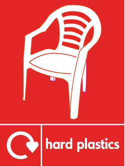 Hard plastics recycle Recycle