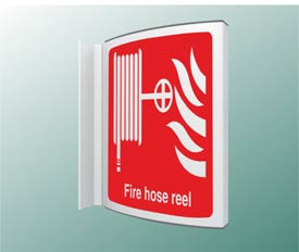 Fire Hose Reel Projecting Sign Projecting Signs