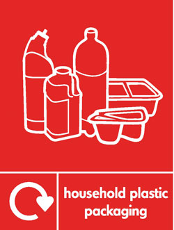 Household plastics without film recycle Recycle