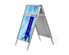 A-Board with Header Frame 32mm